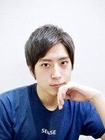 メンズ レオ 天六店(men's LEO)【アップバング】サイドパート×ビジカジ×無造作ショート