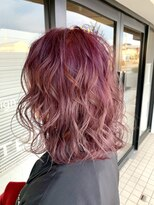 グリッター 赤塚店(GLITTER)bob×coral pink