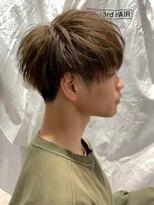 ザ サードヘアー 津田沼(THE 3rd HAIR)横顔ベージュ×マッシュ