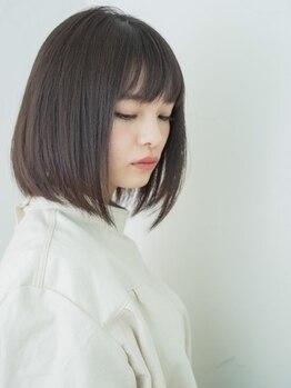 ヘアーリール 曽根店(Hair Rire)の写真/【憧れのサラ艶髪に】髪のダメージが少ない施術だから叶う!まとまりづらい悩みは最新の縮毛矯正にお任せ♪