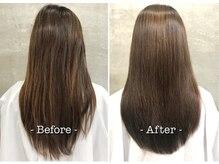 美容室フルールの雰囲気(憧れの艶・美髪に♪ダメージレスも最大限に考慮。焼津/髪質改善)