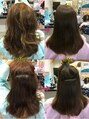 ゴット(Gotto)ブリーチやパーマを繰り返された髪もストレートに!!