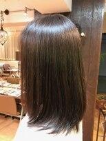 レフ ヘア デザイン(Reff.hair design)【憧れ】うるツヤミディアム × キラ髪