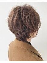 エトワール(Etoile HAIR SALON)ハンサムショート/パーマ/ベージュ