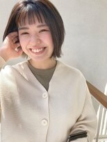 【CASANE下北沢】オン眉ショートレイヤー【渡辺祐磨】