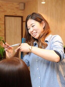 リヒトヘアー 守山店(Licht hair)の写真/丁寧なカウンセリングで1人1人の雰囲気を見極め、あなただけのスタイル、デザインカラーを提案♪