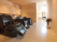 リッチオ(Riccio)の雰囲気(座り心地の良いシャンプー台で癒しのひと時を♪)