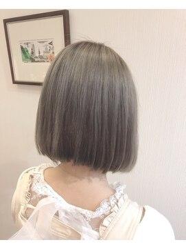 グランヘアー 南店(GRAN HAIR)シルバーアッシュ♪ 【GRAN HAIR南店】