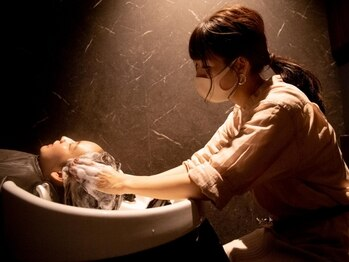 シャンドゥール 栄店(CHANDEUR)の写真/栄3分【個室シャンプー台】アロマオイルバリ式クリームヘッドスパで髪/頭皮を美しく!髪質改善/縮毛矯正も◎