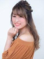 オーブ ヘアー アーチ 赤羽店(AUBE HAIR arch by EEM)お呼ばれ♪ゆるハーフアップ
