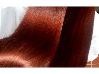 スピンヘアー 亀岡店(Spin hair)の写真/【OggiOtto取扱店】豊富なトリートメントで憧れの美髪へ☆ずっと触れていたくなる髪に