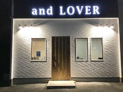 アンド ローバー(and LOVER)の写真