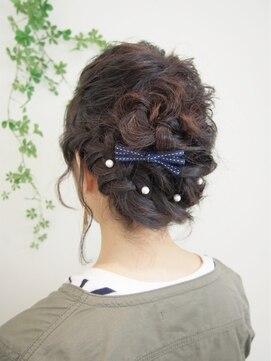 リラシス(RELASIS)【RELASIS】ミディアム×編み込みヘア