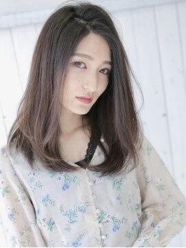 アグ ヘアー ヴィゼ 山科店(Agu hair vise)暗髪×ストレートで綺麗めストレート