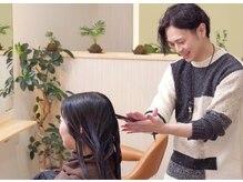トランクゥイル(TranQuil)の雰囲気(髪質・頭皮診断後、一人ひとりに合わせたヘアケアをご提案します)