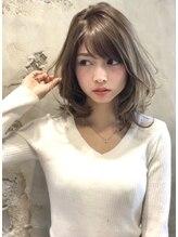 ミラリー トウキョウ(Mirareee Tokyo)30代、40代◎小顔ひし形ヘア!大人かわいい前髪#ココアブラウン