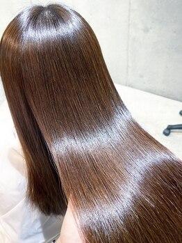 アイノア ルアナ(AInoa RUANA)の写真/矯正で傷んだ髪は適切なケアをしなければ修復しません。もう無理…なんて諦めてる方!当店にお任せ下さい♪