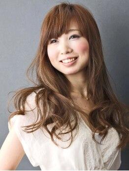 サクラ ヘアー 宝殿店(SAKURA Hair)の写真/パーマ剤のニオイが苦手な方にもオススメ☆人気のオゾンパーマ!!髪に優しい成分でカラーとの同時施術もOK☆