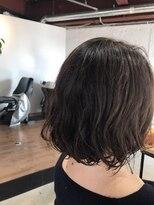 リアン ヘアー(Lien hair)ゆるーい軽く見えるパーマボブ