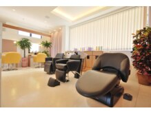 美容室 あかねの雰囲気(施術に応じた3種類のシャンプー台を完備。)