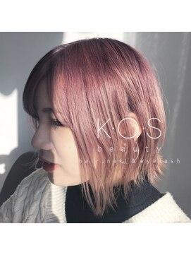 ケーオーエス(KOS beauty hair, nail & eyelash)ピンクベージュ