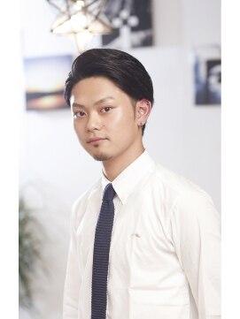【代官山★a'vail】七三分け☆ツーブロック+ナチュラルパーマ