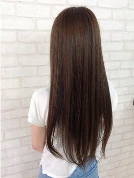 ミンクヘアーデザイン(mink hair design)の写真/minkのオススメ!アミノ酸配合の縮毛矯正・デジタルパーマ☆ダメージレスでお手入れ簡単な美髪が手に入る!