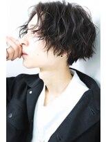 リップスヘアー 銀座(LIPPS hair)色気メンズミディ