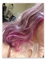 ミエルヘアーアンドスパ(miel hair&spa)◆miel◆ ホワイトラベンダーアッシュ × PINK