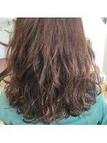 リアン ヘアー(Lien hair)しっかりと大きめのデジタルパーマ