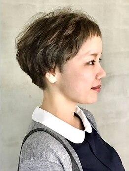 リブロ(riburo)の写真/【カット+カラー+トリートメント¥7800】ダメージが気になる方にオススメ☆艶のある美しい髪色をご提案!