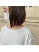 ヘアーエスクールフェイス(hair S. COEUR face)鉄板ボブスタイル
