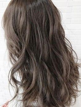 ヘアーラニッシュ 柏たなか店(hair Lanish)の写真/大人女性の綺麗を引き出すカラーリングをご提案◎クリアな発色で透明感溢れるカラーが叶います♪