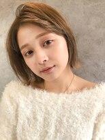エイチスタンド 渋谷(H.STAND)顔周りの小顔デザイン♪大人かわいい/韓国/ボブ[MICOTO/渋谷]