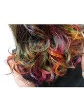 サロン プラチノ(salon PRATiNO)グラマラスなグラデーションカラー