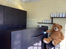 オルソ(orso)の雰囲気(アットホームな空間でゆったりと、大きなクマもお待ちしてます♪)