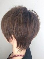 【首が綺麗に見える!】 peeps hair MASAのマッシュウルフ