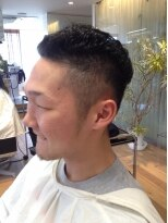 ストリート系ワイルドスタイル☆イケ髪刈り上げショート