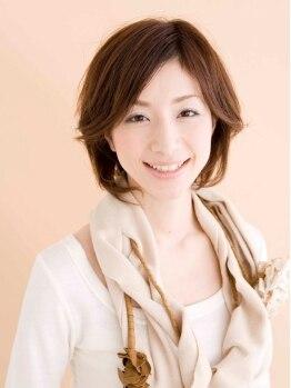 """ヘアーメイク ガヤ(hair make Gaya)の写真/""""髪を傷ませない施術""""を基にいつまでもキレイを維持したい、そんなお客様を丁寧にサポート☆"""