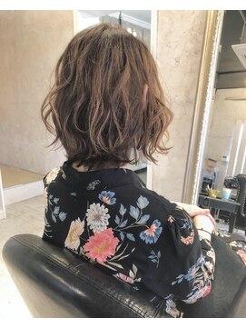 ヘアー アトリエ エゴン(hair atelier EGON)レイヤーボブ