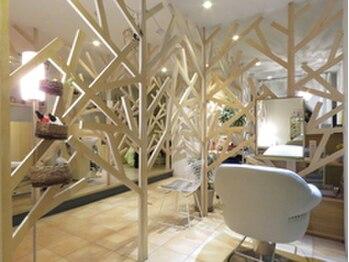 ソアンヘアー(SOAN hair)の写真/3席のみ…オシャレなインテリアが並ぶ癒しの空間♪広島で唯一、商店建築に選ばれた北欧デザイナーズサロン