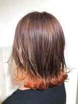 リンクス(LINKTH)裾カラーオレンジ