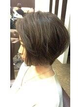 グリームス ヘアデザイン(GLEAMS Hair Design)世界一のツヤ!お手入れ簡単大人ラフショート★山本大輔