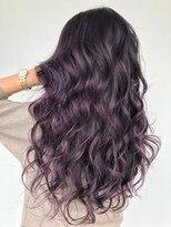 Dahlia purple ombre