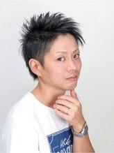 ヘアサロン ビッグベアー(hair salon Big Bear)ショートアシメ&ツーブロック