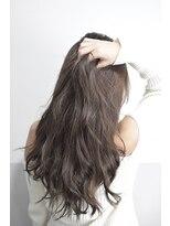 【miel hair bijoux】大人のブルージュカラー