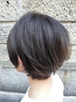 ヘアースペース ミツオ(hair space MITSUO)の写真/大人女子の為のパーソナルなショートスタイルをアナタに!