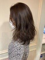 アクシス 栄ガスビル店(`AXIS)AXIS 艶髪 チョコレートカラー ブラウン saaya
