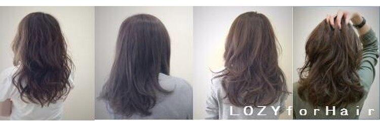 ロジーフォーヘアー(LOZY for hair)のサロンヘッダー