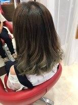 ヘアーメイク カリユ(HAIR MAKE kariyu)グラデーションカラー アッシュ